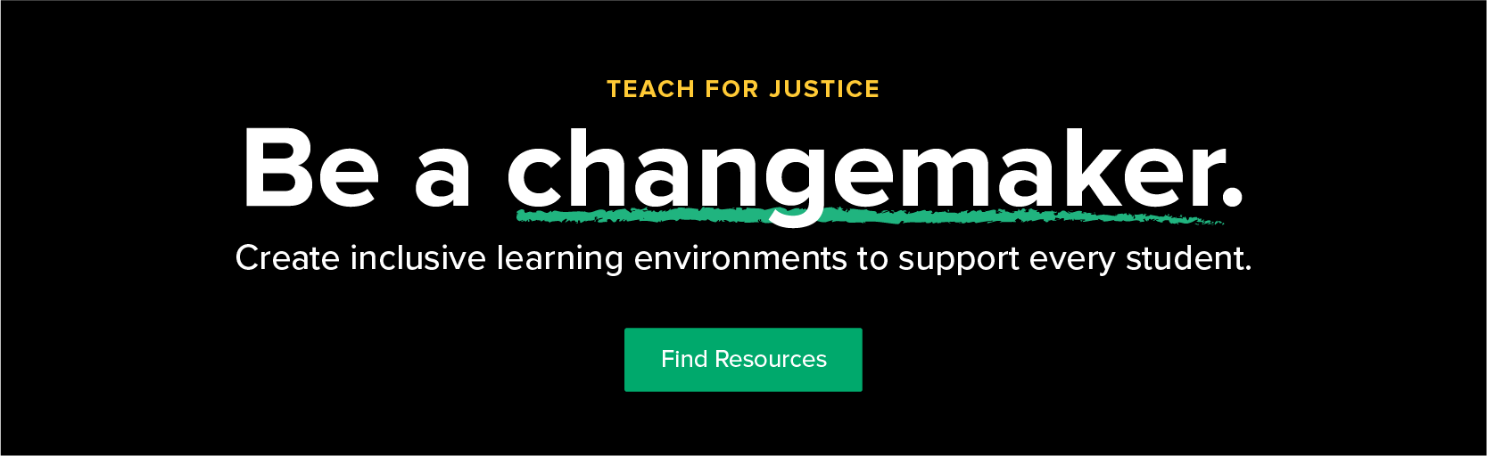 TpT Teach for Justice banner