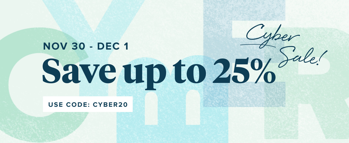 Cyber Monday and Tuesday Sale